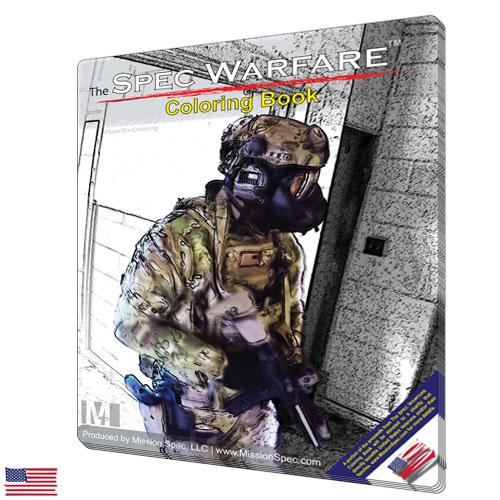 The Spec Warfare Coloring Book